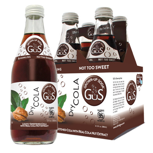 GUS GROWN-UP SODA DRY COLA