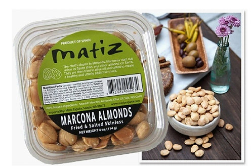 Matiz España Marcona Almonds 4oz. - 12ct. case
