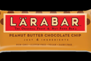 LARA BAR PEANUT BUTTER CHOCOLATE CHIP Box 6 ct.