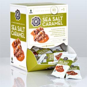 Mini Milk Sea Salt Caramel Bar .07oz - Per Box