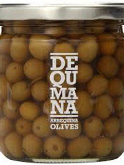Dequmana Naturally Cured Arbequina Olives