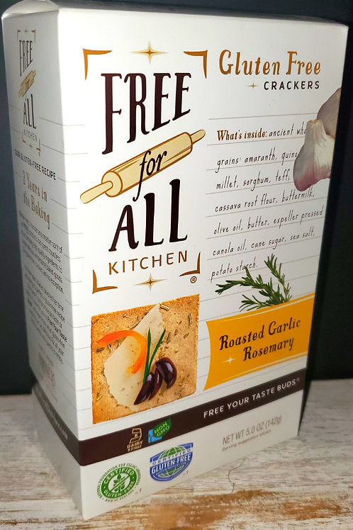 Free For All Kitchen Garlic & Rosemary