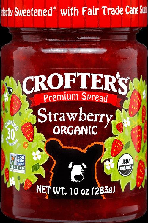 Crofter's Organic Strawberry 10 oz.
