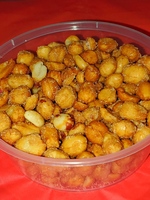 Honey Roasted Peanuts 10-8oz. cups