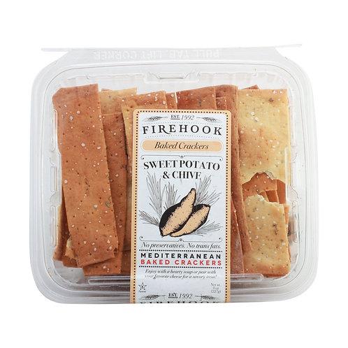 Firehook Organic Flatbread Sweet Potato & Chive 5.5oz. (8ct.)