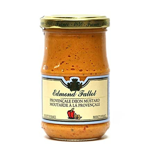 Edmond Fallot Provencale Mustard 12ct. case 7oz. jar