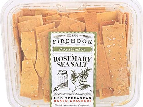 Firehook Organic Flatbread Rosemary Sea Salt  5.5oz. (8ct.)