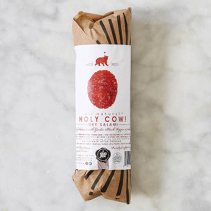 Red Bear Provisions Holy Cow! Dry Salami 6oz. Chubs