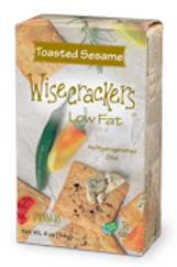 Wisecrackers Toasted Sesame