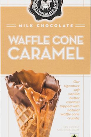 CCCo. WAFFLE CONE CARMEL 12-3.5oz bars