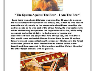 The System Against The Bear - I Am The Bear
