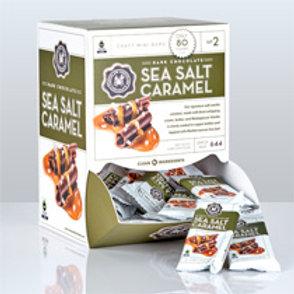 Mini Dark Sea Salt Caramel Bar .07oz. - Per Box