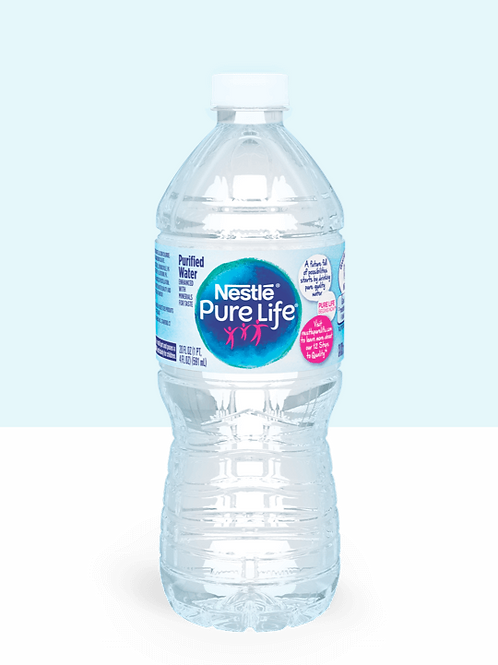 Nestle Purified Water 0.5L- 35ct.