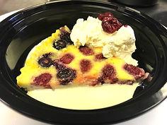 Meals on wheels dessert_raspberry puddin