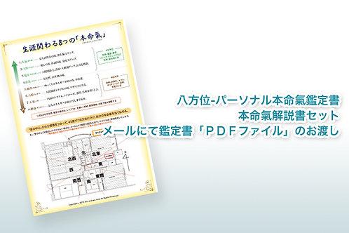 八方位-パーソナル本命氣鑑定書・本命氣解説書セット【メール商品】