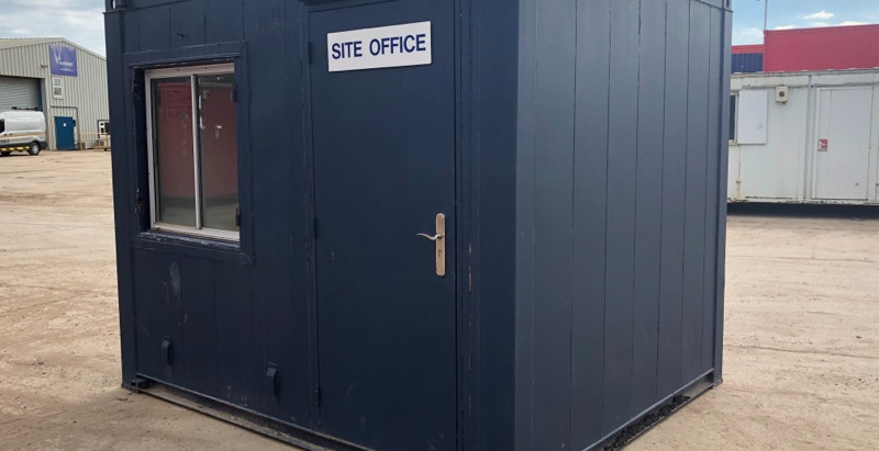10x8ft Site Office/Gatehouse