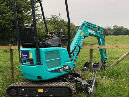 Kubota Mini Excavators Available For Hire
