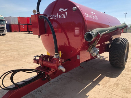 New Marshall ST1800 Dust Suppression Units added to Fleet