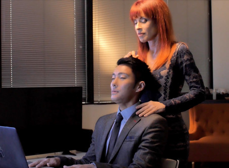 "10 Minute ""Transformational"" Head&Neck massage class online now!"
