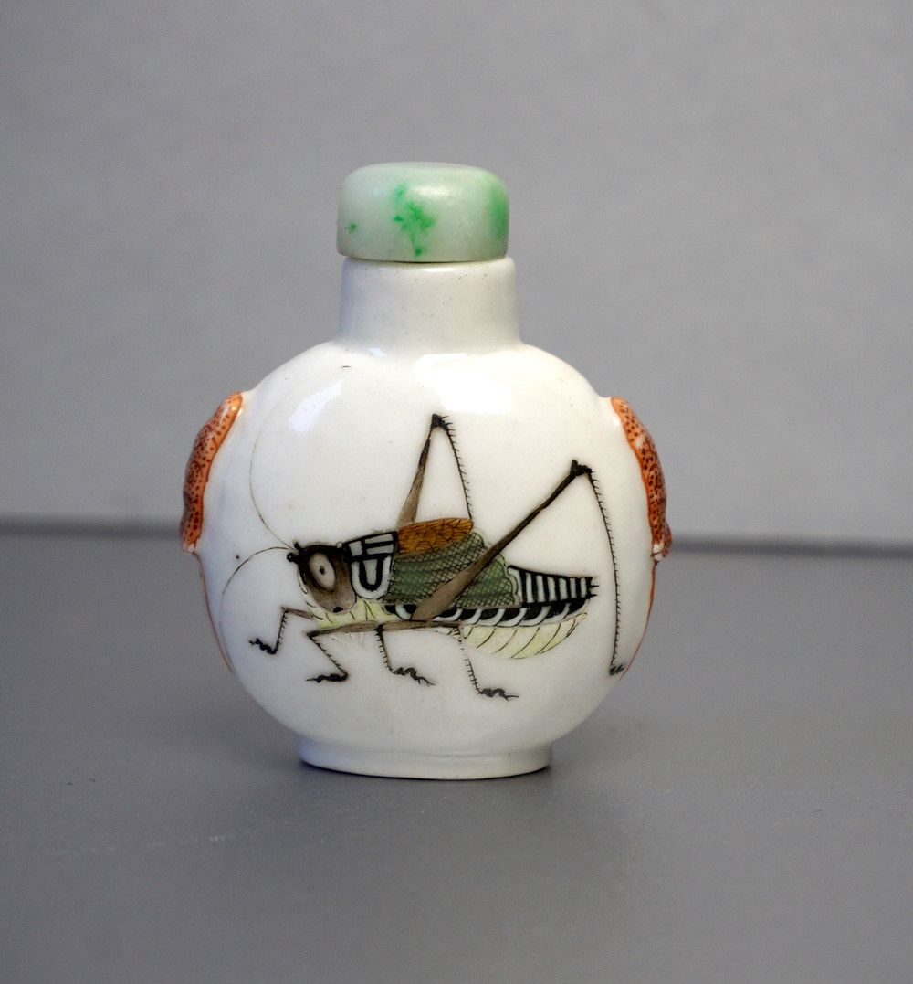 A Daoguang Period Snuff Bottle Purchased from Dunt King in 1967, HongKong.