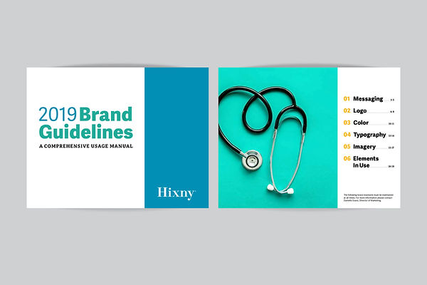 Hixny brand guidelines