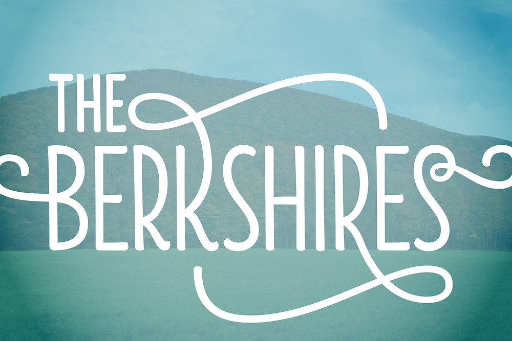 Berkshires postcard