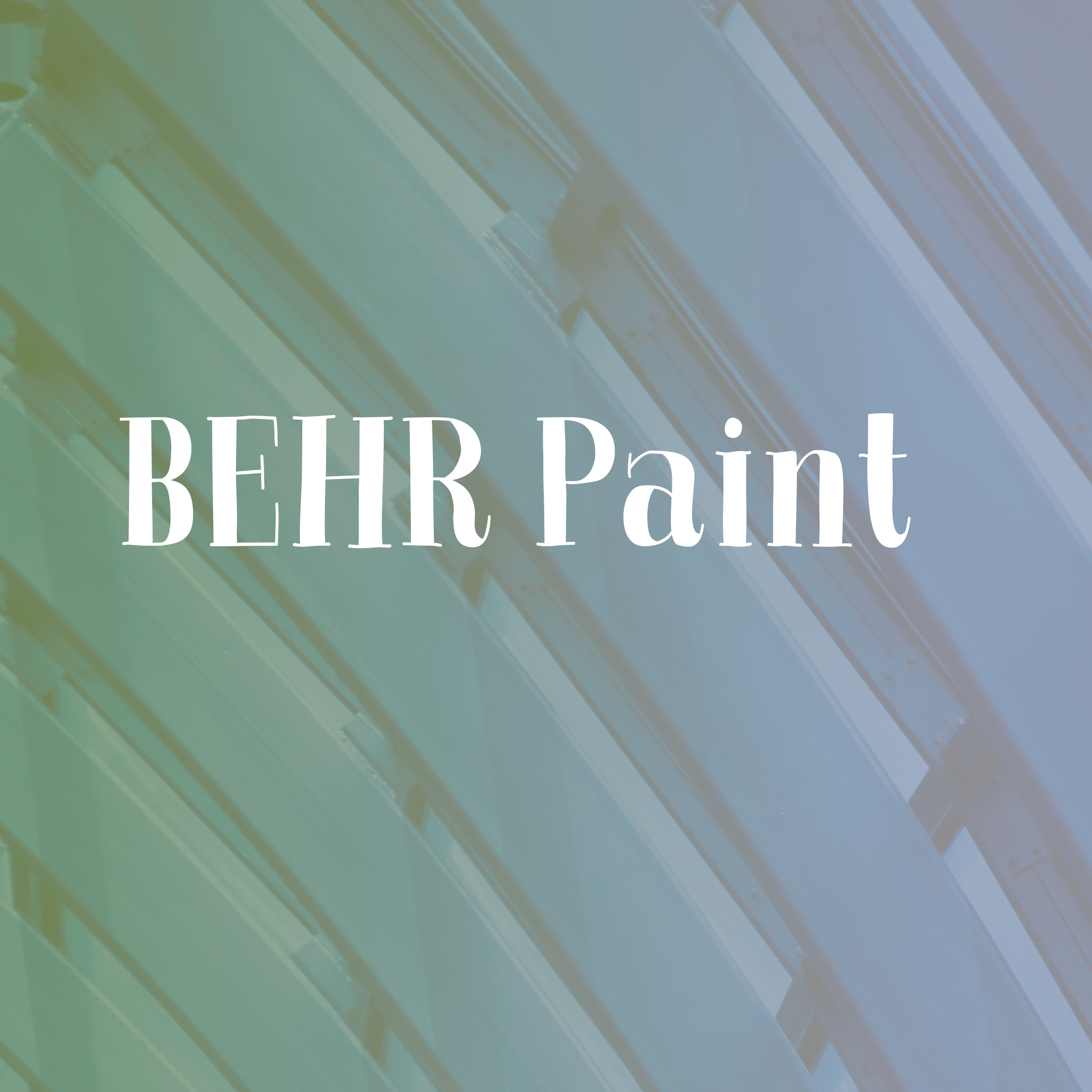 Connect for BEHR