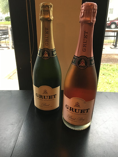 GRUET BRUT, ROSÉ $21