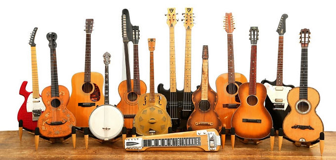 London-Chiswick-Auctions-Guitar-group-sh