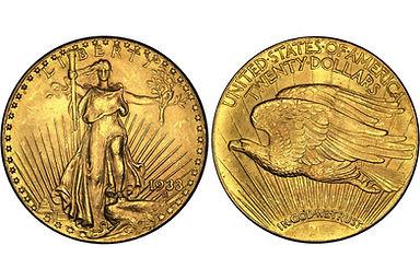 US2000-1933-Saint-Gaudens-20-Dollar-Gold