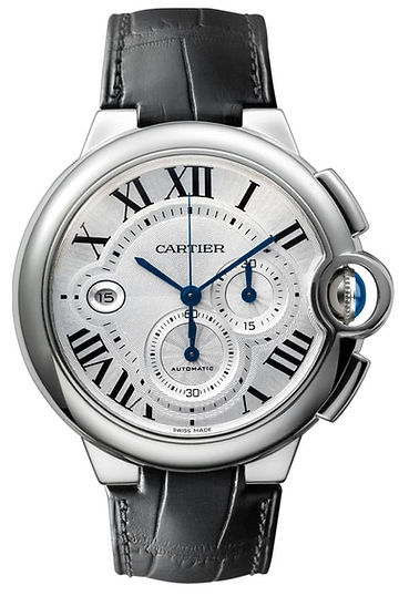 Cartier-Ballon-Bleu-Black-Alligator-Stra