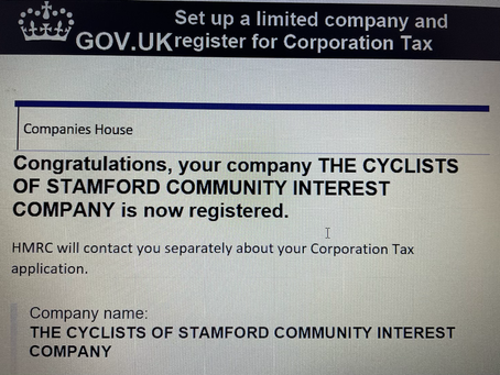 TCOS is now a Community Interest Company