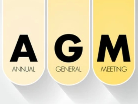 Our 1st AGM