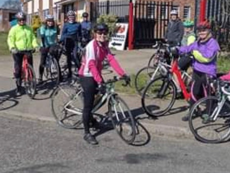 1st TCOS Ladies ride of 2021