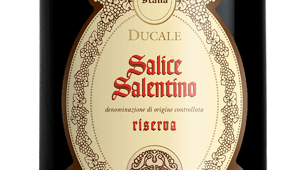Ducale Salice Salentino 2017 'Lovely, rounded red, fresh enough for lunch'