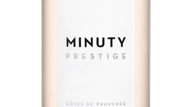 Minuty Prestige Rosé 2019 'The great rosé of Provence. Drink it all year round'
