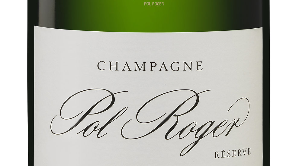 Champagne Pol Roger Brut Réserve 'A classic champagne for all occasions'