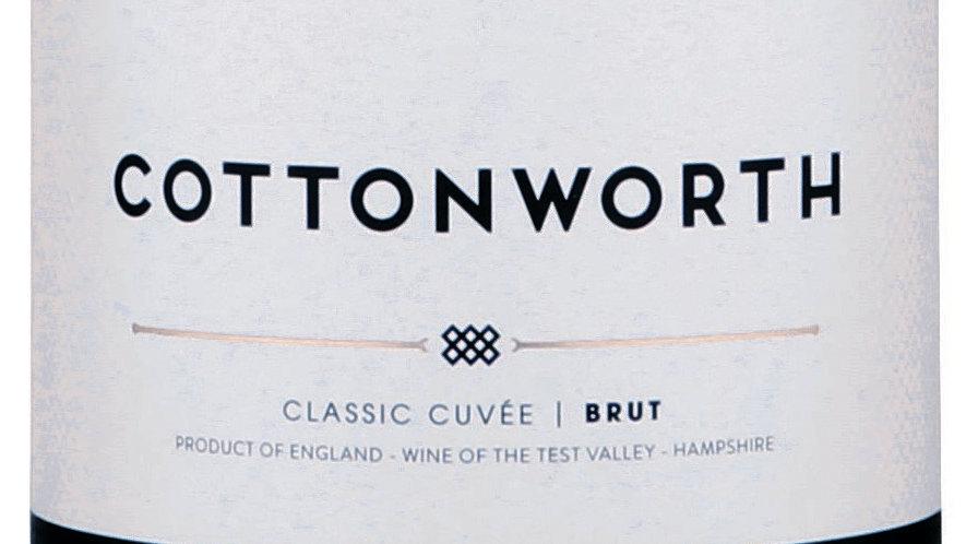 Cottonworth Classic Cuvée NV 'Rich,  impressive; one of the UK's best fizzes'