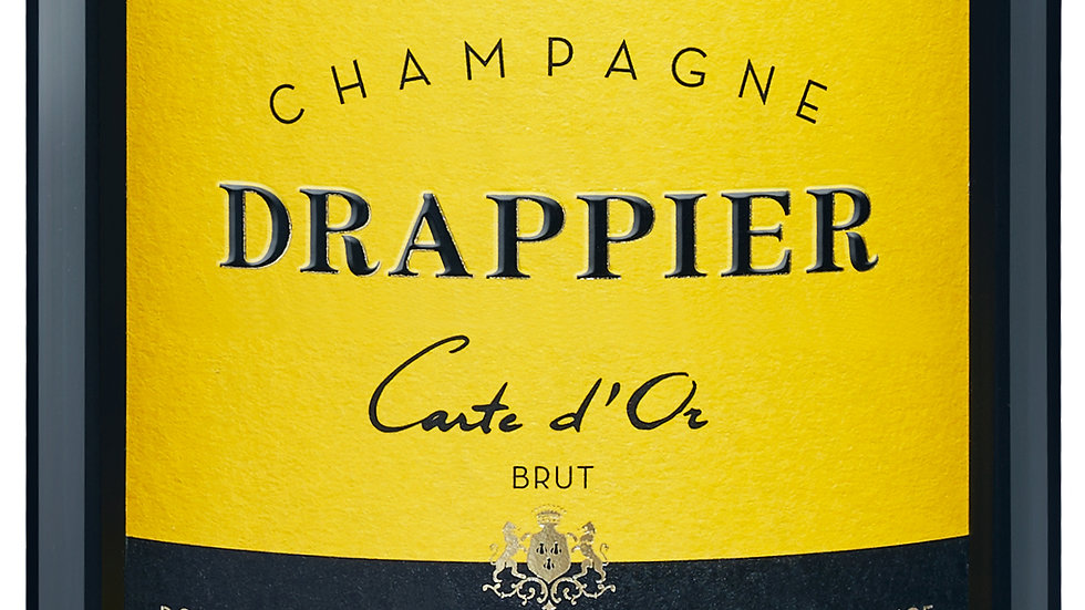 Champagne Drappier Brut NV 'Long, dry, very elegant with fine bubbles'