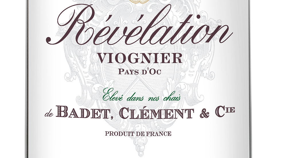 Révélation Viognier 2017 'Light, dry, subtle wine that craves a caesar salad'