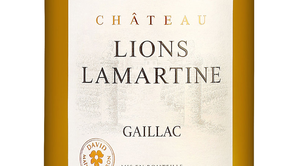 Chateau Lions Lamartine Gaillac 2019 'Light, delicate white for spring sipping'