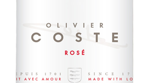 Domaine Coste Rosé 2019 'Super-posh rosé; pale and dry and strawberryish'