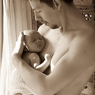 father and child photography