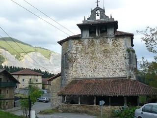 Edificios especiales en Orozko:  Parroquia de San Pedro de Murueta