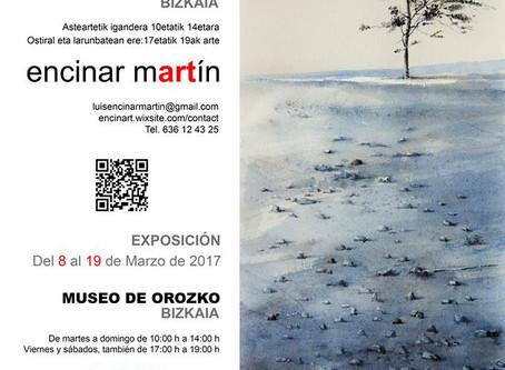 Exposición de Luis Encinar Martín