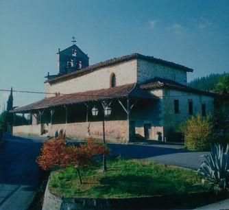 Orozkoko eraikin bereziak:  Olarteko Done Bartolome parrokia