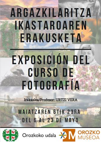 EXPOSICIÓN DEL CURSO DE FOTOGRAFÍA