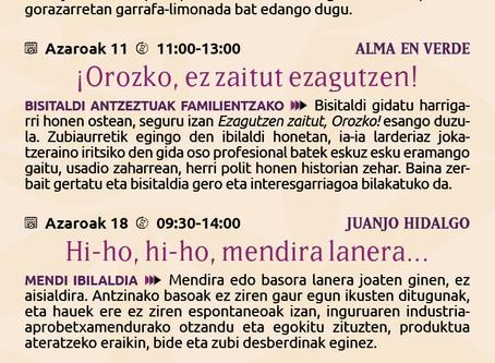 AZAROKO IRTEERAK
