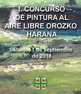 I. CONCURSO DE PINTURA AL AIRE LIBRE OROZKO HARANA