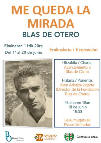 ME QUEDA LA MIRADA   Blas de Otero